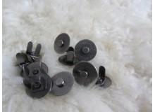 Magnetverschluss dunkel Ø 14mm
