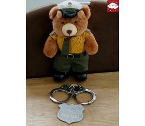 Stickserie - Spielabzeichen - Polizei Arzt Feuerwehr
