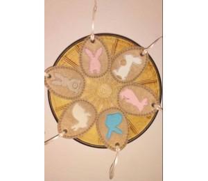Stickserie - Ei Love Ostern inkl. Anhänger ITH