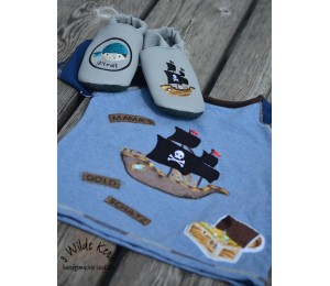 Stickdatei - Piratenschiff Appli