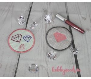 Stickserie ITH - Abschminkpads Kosmetikpads