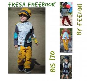 Hose Fresa - Freebook von Feelini