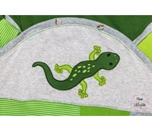 Stickdatei - Echse Reptil Appli