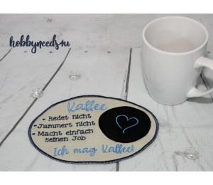 ITH Stickserie - Mug Rugs At Work 2