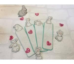 ITH Stickserie - Funny Bunnies Geschenkanhänger