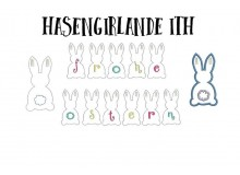 ITH - Wimpel Hasengirlande Ostergirlande