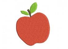 Stickdatei - Apfel