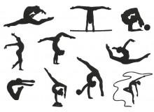 Stickserie - Gymnastik