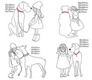 Stickserie - Hundeliebe