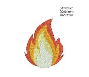 Stickdatei - Flamme