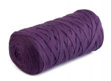 Textilstrickgarn 250g lila 125m