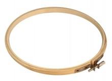 Stickrahmen rund aus Holz Ø19,7 cm