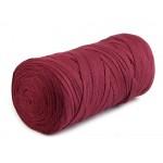 Textilstrickgarn 250g bordeaux 125m