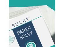 SULKY® PAPER SOLVY, 12 Blatt á 21,6cm x 28cm