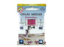 ORGAN® Needles Embroidery Sortiment 75-90