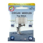 ORGAN® Needles Top Stitch Stärke 80