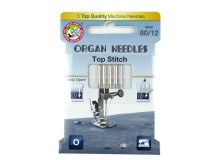 ORGAN® Needles Top Stitch Stärke 80