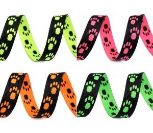 Gurtband Hundemotiv 15 mm