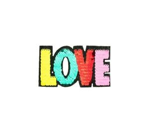 Wendepailletten Applikation LOVE