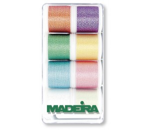 Madeira Metallic Opal Garn Box No. 40