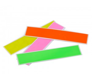 Reflektierende Streifen Reflex Aufkleber