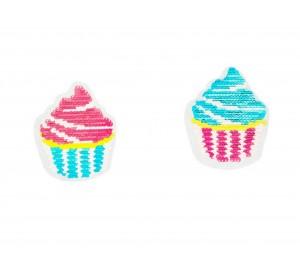 Wendepailletten Applikation Muffin