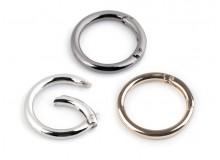 Karabiner Ring für Handtaschen Ø34 mm