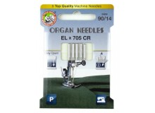 ORGAN® Needles EL x 705 Chromium Stärke 90
