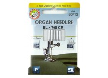 ORGAN® Needles EL x 705 Chromium Stärke 80
