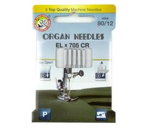 ORGAN® Needles EL x 705 Chromium Stärke 80