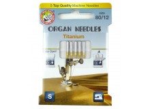 ORGAN® Needles Titanium Stärke 80