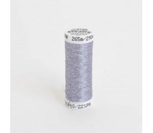SULKY® POLY STAR 30, 265m Snap Spulen - Farbe 0540 Weiß mit silber Glitzer