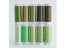 SULKY® RAYON 40 - GREENERY (10 x 225m Snap Spulen)