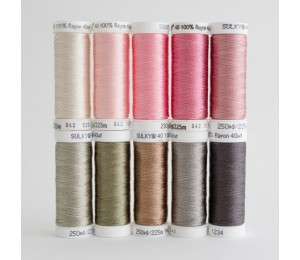 SULKY® RAYON 40 - I LOVE SEWING (10 x 225m Snap Spulen)