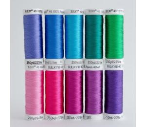SULKY® RAYON 40 - LITTLE MERMAID (10 x 225m Snap Spulen)