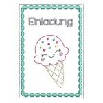 ITH - Postkarte Einladung Eis