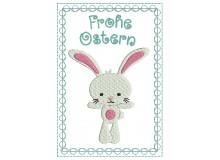 ITH - Postkarte Frohe Ostern Bunny