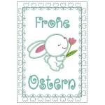 ITH - Postkarte Frohe Ostern Tulpen