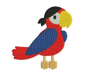 Stickdatei - Papagei