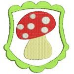 Stickdatei - Pilzwappen