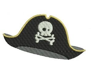 Stickdatei - Piratenhut