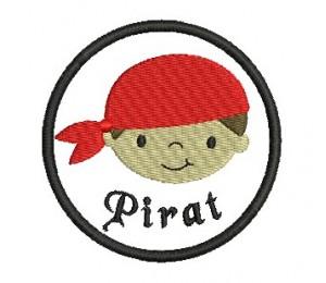 Stickdatei - Button Pirat