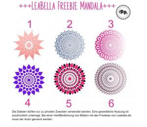 Plotterdatei - Mandalas von LeaBella