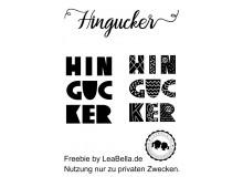 Plotterdatei - Hingucker von LeaBella