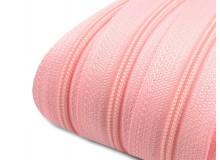 Endlos Reißverschluss 3mm candy pink mit 2 Schiebern