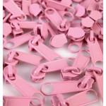 Schieber endlos Reißverschluss 3mm candy pink