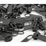 Schieber endlos Reißverschluss 3mm dunkelgrau