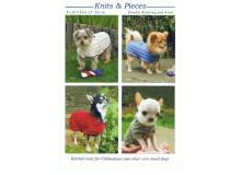 Strickanleitung Hundemantel in vier Versionen 2
