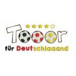 Stickdatei - Tooor für Deutschland