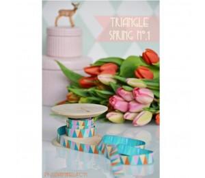 Webband Triangle Spring von Farbenmix